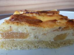 Apfelkuchen Mit Sahneguss Einfachekuchenrezepte De Apfelkuchen
