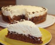 Pflaumen Vanille Torte