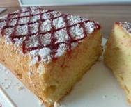 Kleinkarierter Kuchen