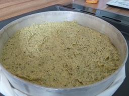 einfaches Kuchenrezept Kürbiskernkuchen